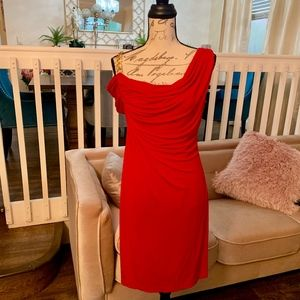 NWT Sexy Red Cocktail Dress Size 8